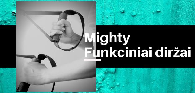 Mighty Funkciniai Diržai
